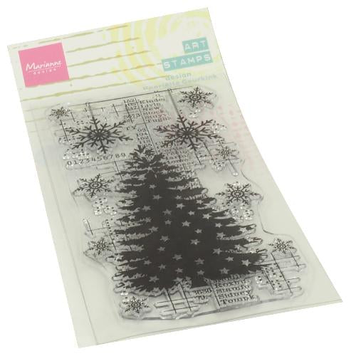 Clear Stamps Art stamps - Christmas Tree
