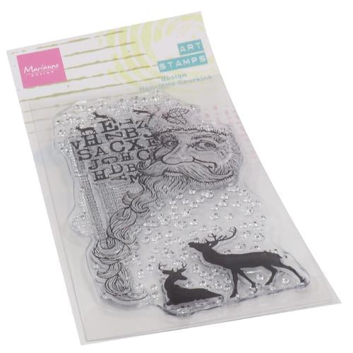 Clear Stamps Art stamps - Santa