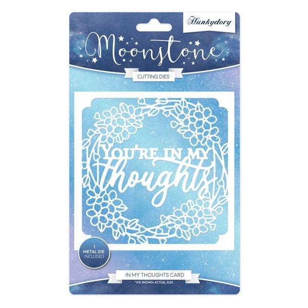 Moonstone Dies - In My Thoughts Card