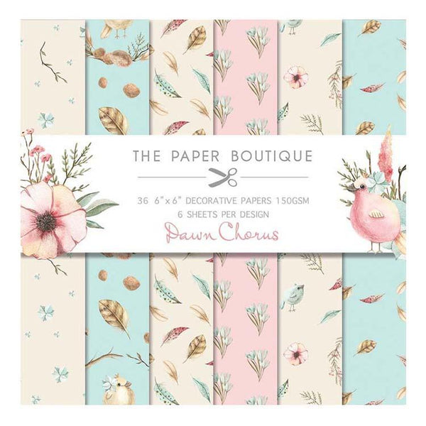 The Paper Boutique Dawn Chorus 6x6 Paper Pad 160gsm