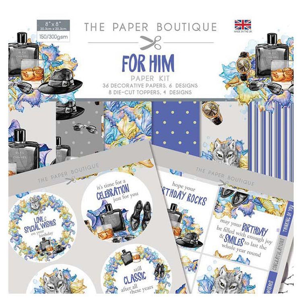 The Paper Boutique For Him Paper Kit