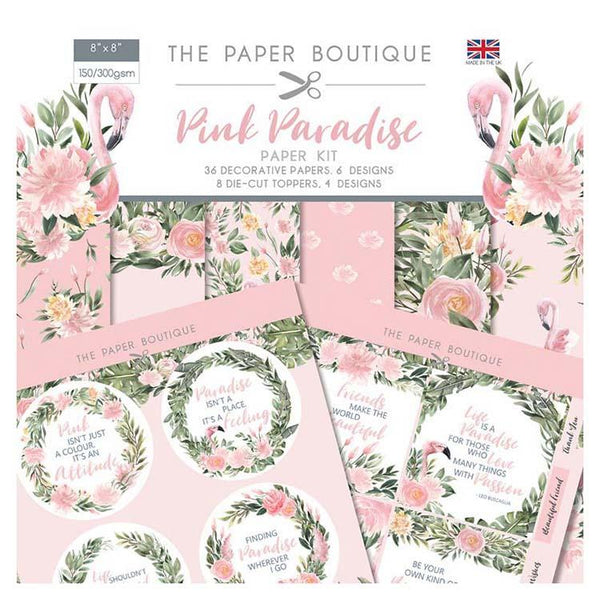 The Paper Boutique Pink Paradise Paper Kit
