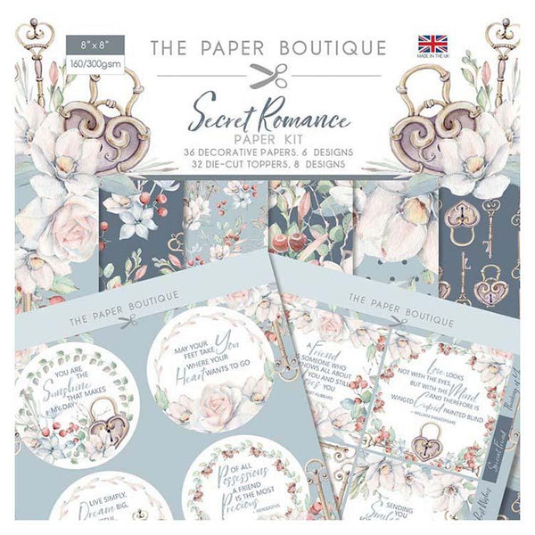 The Paper Boutique Secret Romance Paper Kit