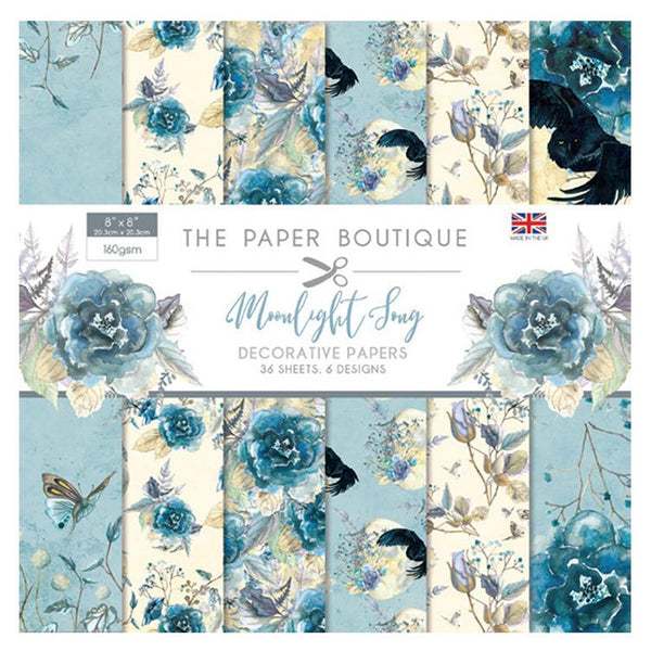 The Paper Boutique Moonlight Song 8x8 Paper Pad