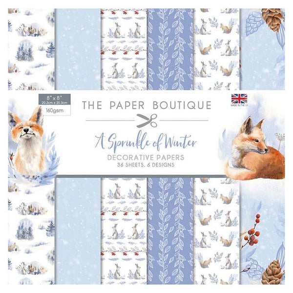 The Paper Boutique A Sprinkle of Winter 8x8 Paper Pad