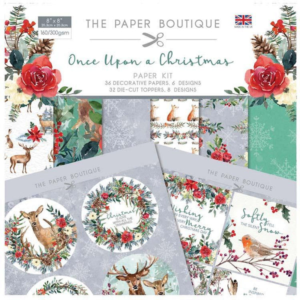 The Paper Boutique Once Upon a Christmas Paper Kit