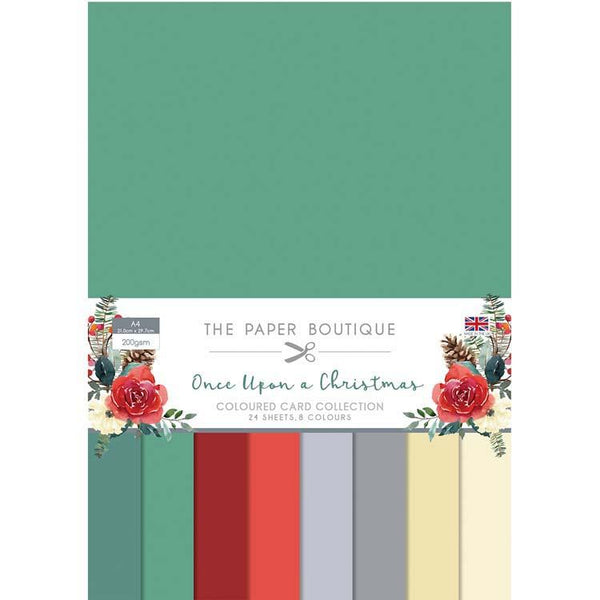The Paper Boutique Once Upon a Christmas Colour Card Collection