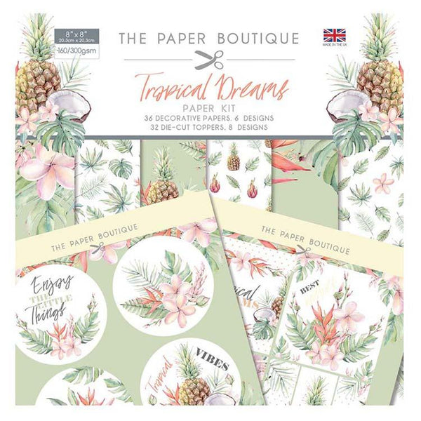 The Paper Boutique Tropical Dreams Paper Kit