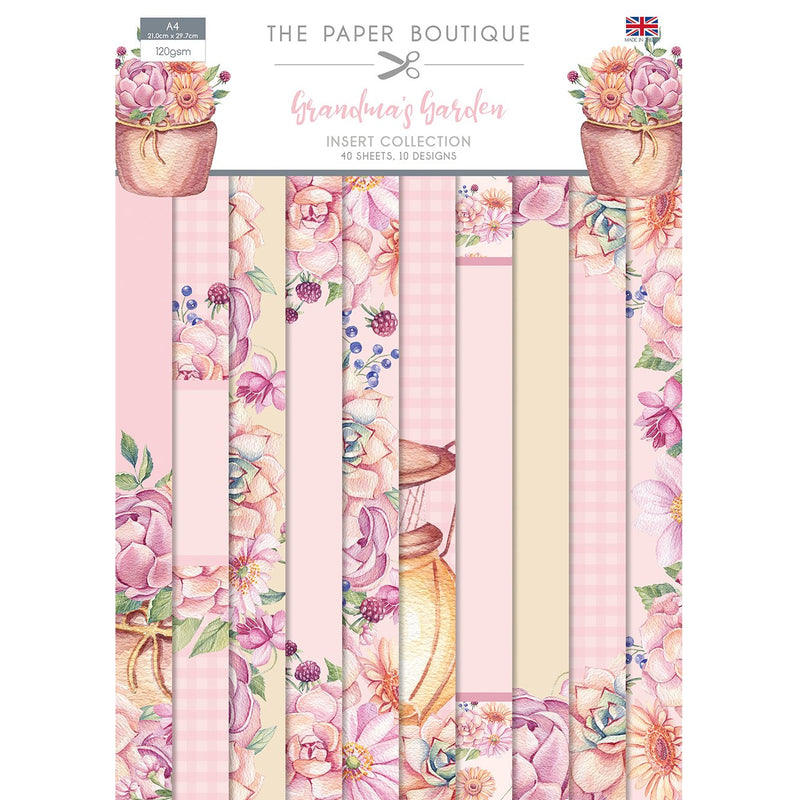 The Paper Boutique Grandma's Garden Insert Collection