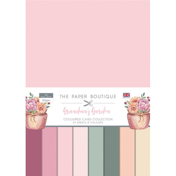 The Paper Boutique Grandma's Garden Colour Card Collection