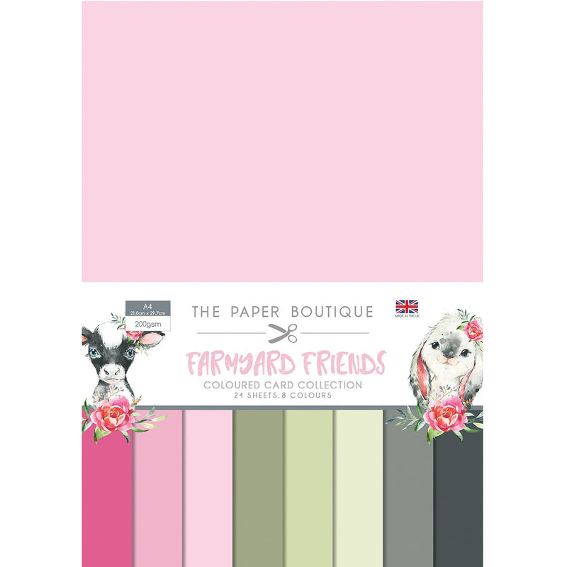 The Paper Boutique Farmyard Friends Colour Card Collection