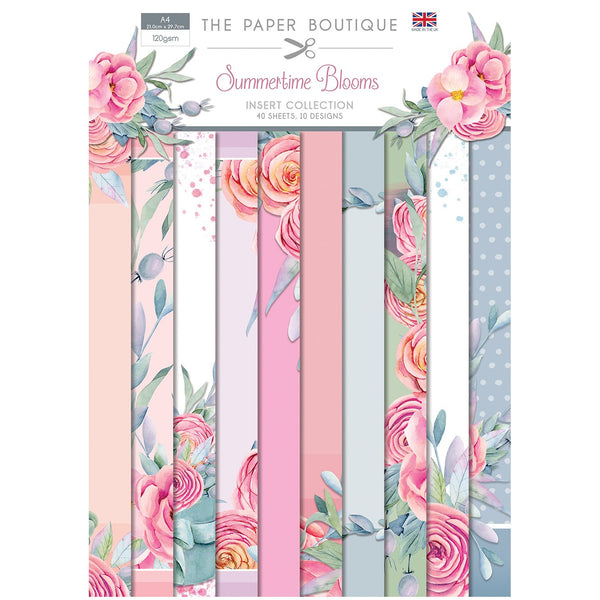 The Paper Boutique Summertime Blooms Insert Collection