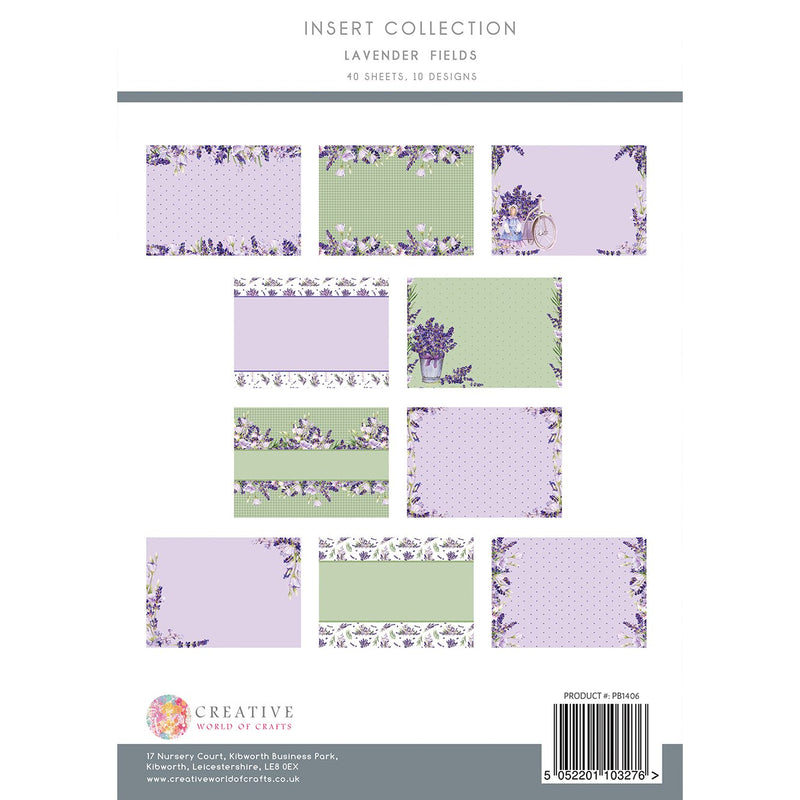 Lavender Fields Insert Collection