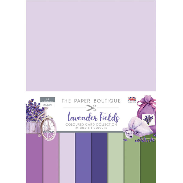 Lavender Fields Colour Card Collection
