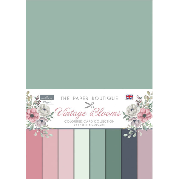 Vintage Blooms Colour Card Collection