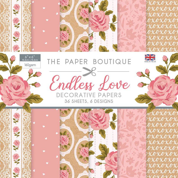 Endless Love 6x6 Paper Pad