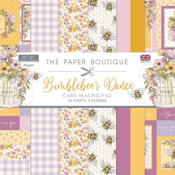 Bumblebee's Dance 12x12 Card Making Pad