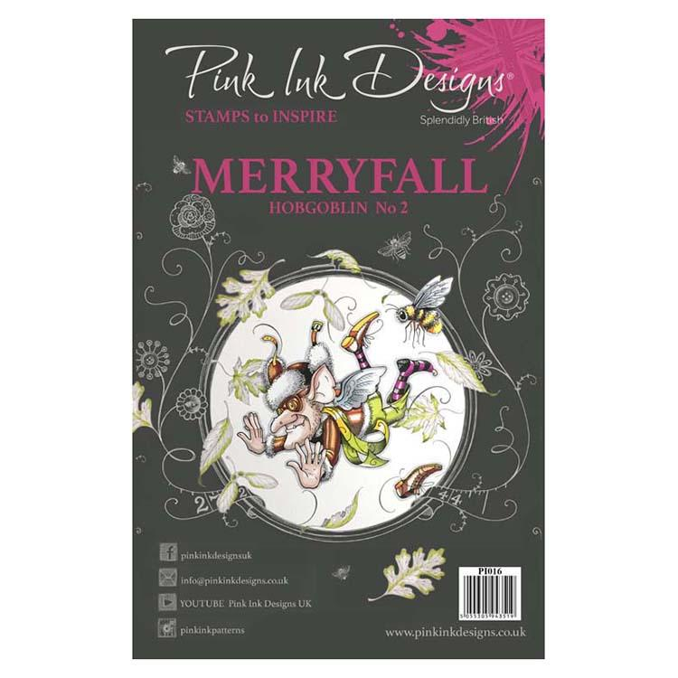 Pink Ink Designs A5 Clear Stamp Merryfall Hobgoblin 2