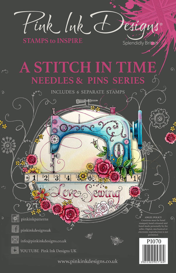 A Stitch In A Time A5 Clear Stamp