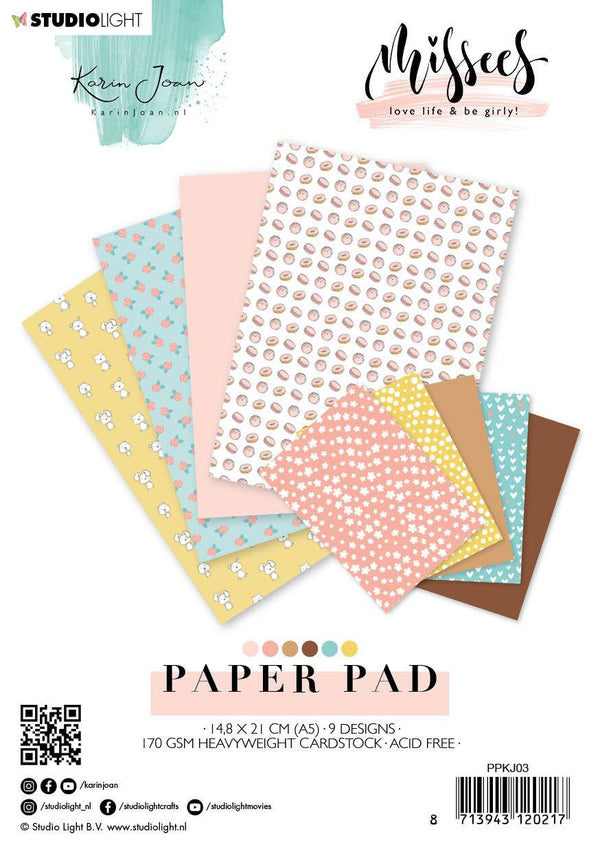 Karin Joan Paper pad  Missees Collection 148x210mm nr.03