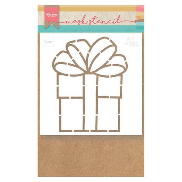 Marianne Design Craft Stencil: Present By Marleen
