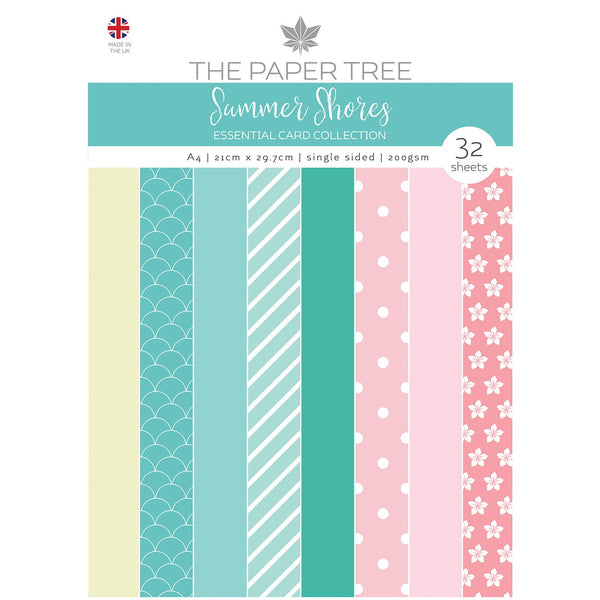 The Paper Tree Summer Shores A4 Essential Colour Card