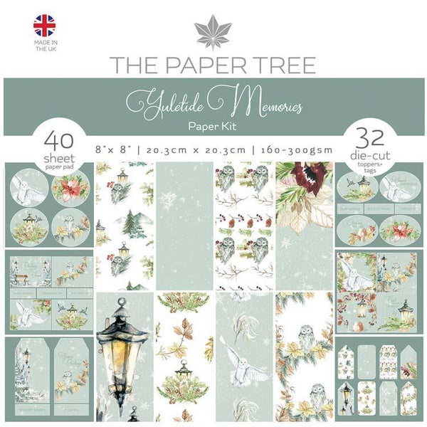 The Paper Tree Yuletide Memories Paper Kit inc Tags