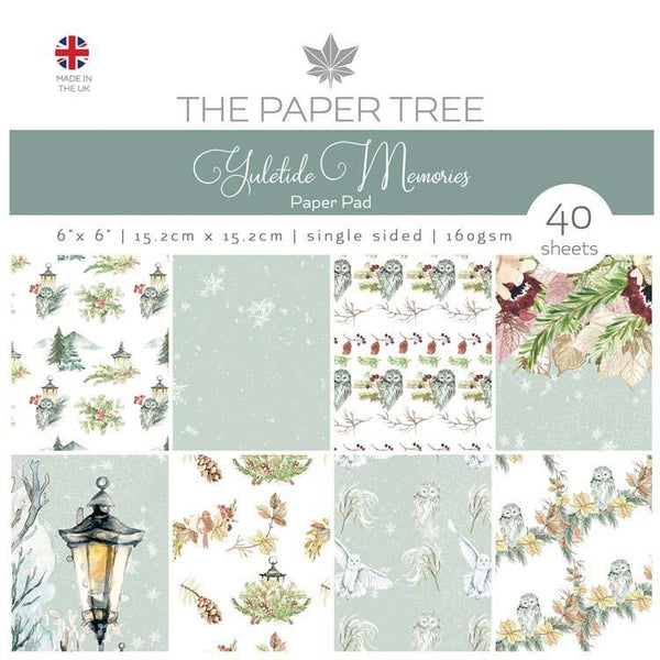 The Paper Tree Yuletide Memories 6x6 Paper Pad
