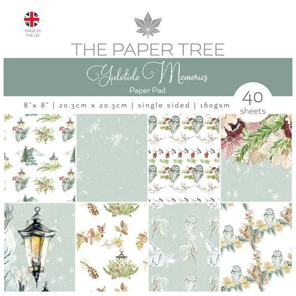 The Paper Tree Yuletide Memories 8x8 Paper Pad