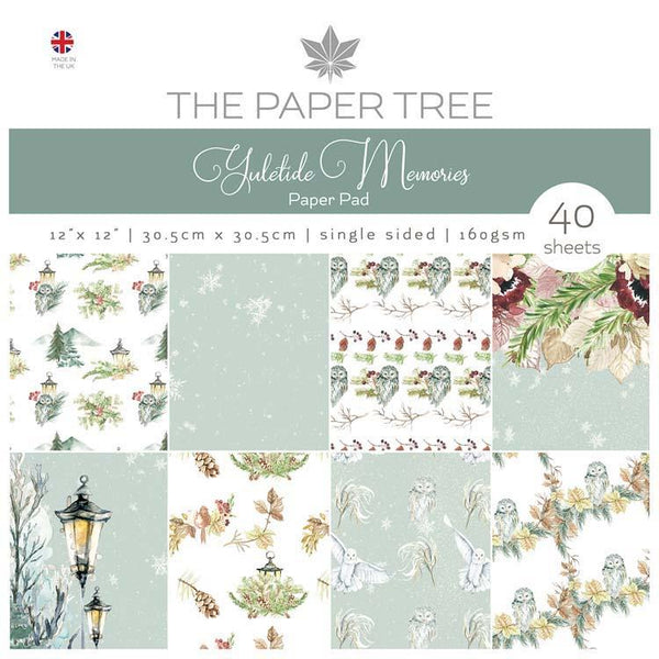 The Paper Tree Yuletide Memories 12x12 Paper Pad