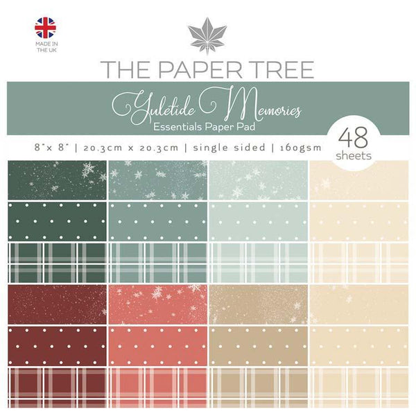 The Paper Tree Yuletide Memories 8x8 Essentials Pad