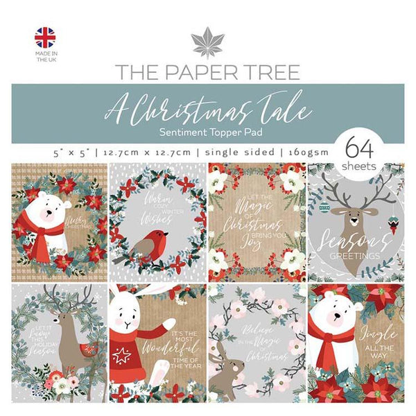 The Paper Tree A Christmas Tale 5x5 Sentiments Pad