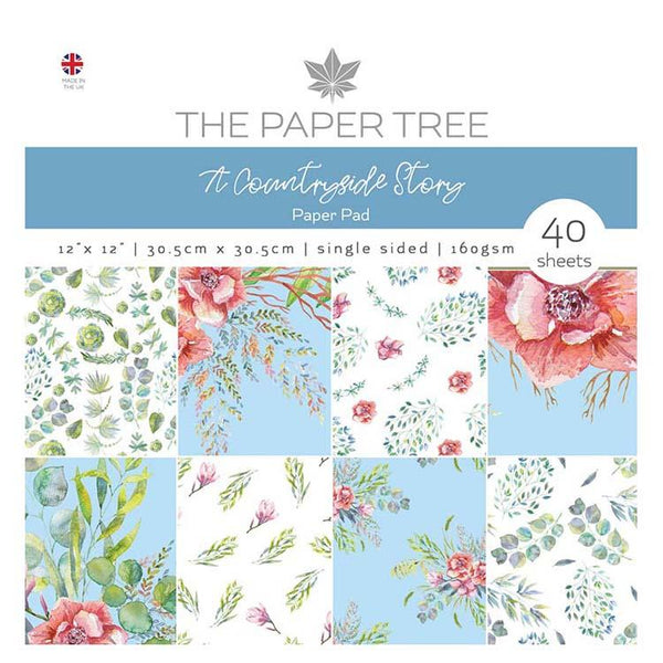 The Paper Tree A Countryside Story 12x12 Paper Pad