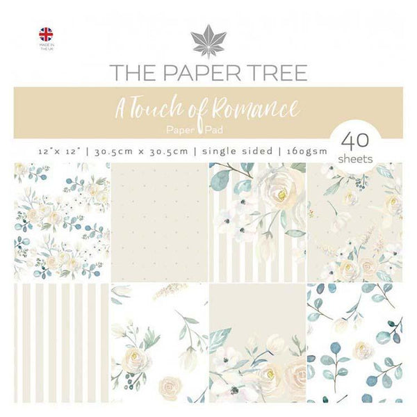 The Paper Tree A Touch of Romance 12x12 Paper Pad