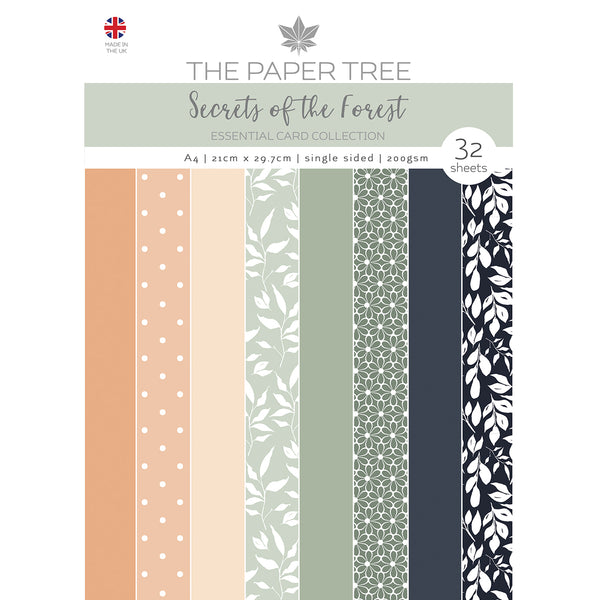 The Paper Tree Secrets of the Forest A4 Essential Colour Card