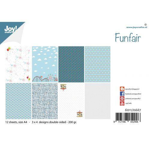 Joy! Crafts A4 Papers - Funfair