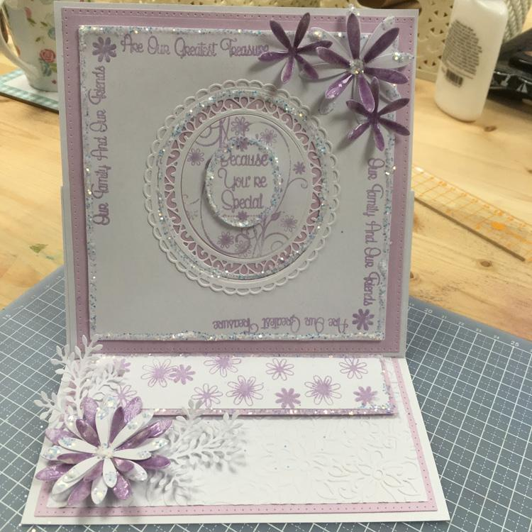 Creative Expressions: Dainty Daisies Inspirational Sentiments Corners