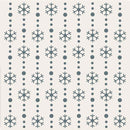 Sentimentally Yours 8 x 8 Stencil - Snowflake Trails