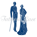 Tattered Lace Die - Deco Couple