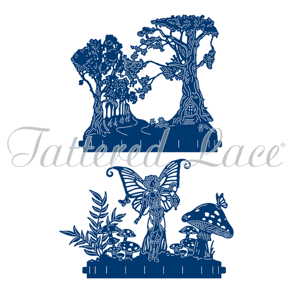 Tattered Lace Die - Flectere Faerydae Story