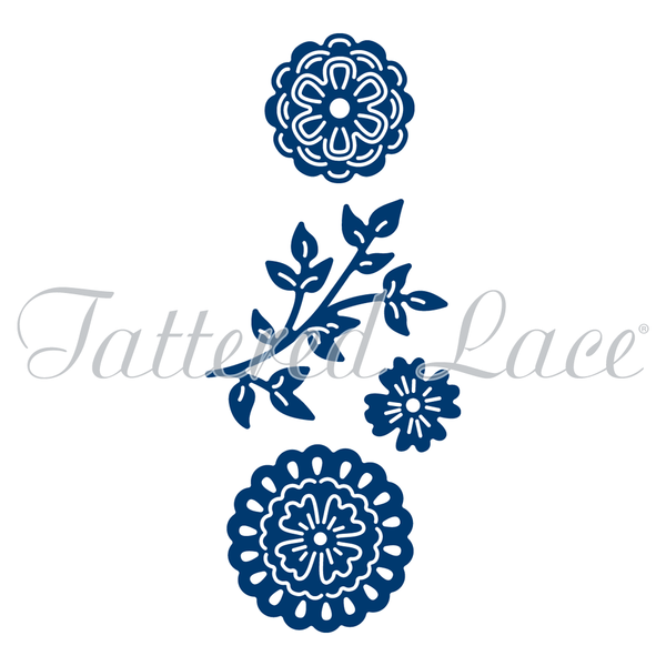 Tattered Lace Dies - Mini Petals