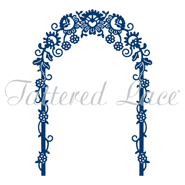Tattered Lace Dies - Blossoming Archway