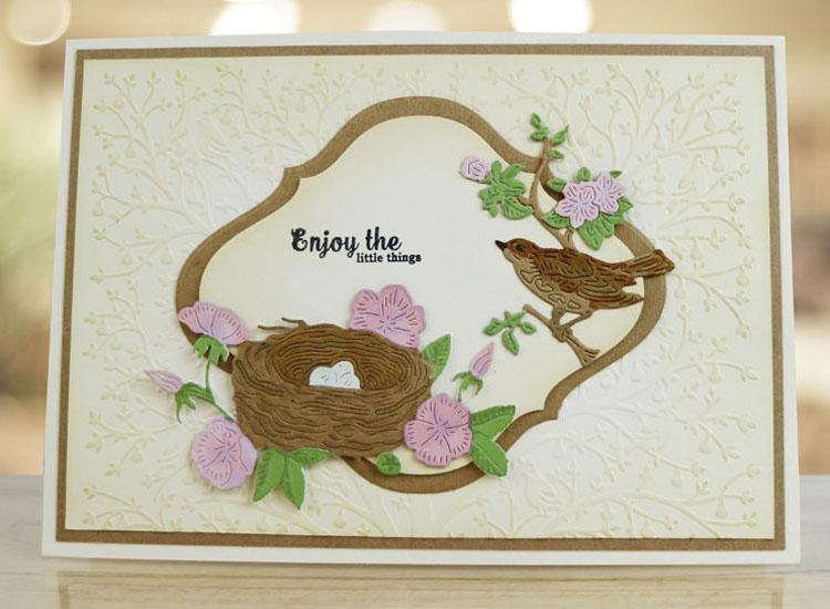 Essentials by Tattered Lace Bird's Nest