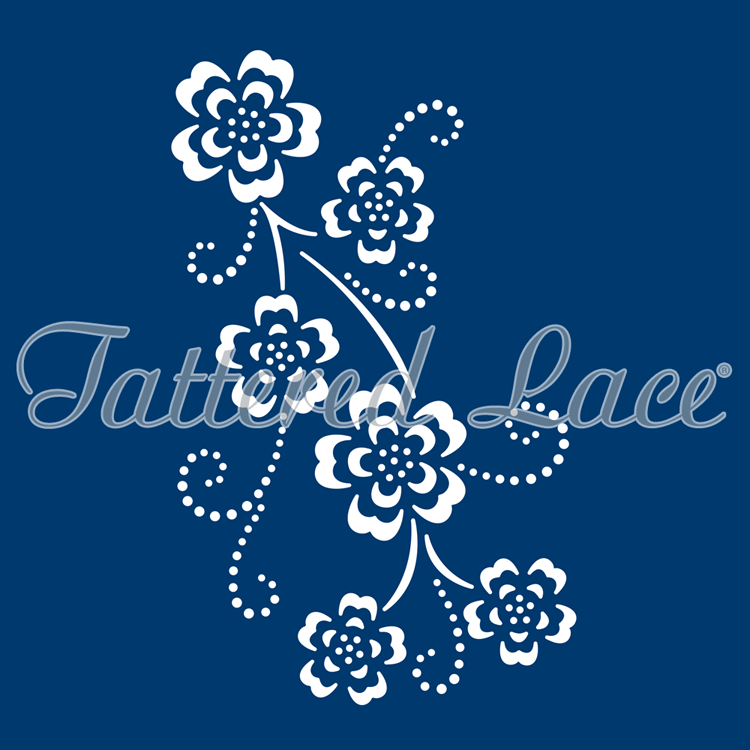 Tattered Lace Dies: Delicate Detail - Floral