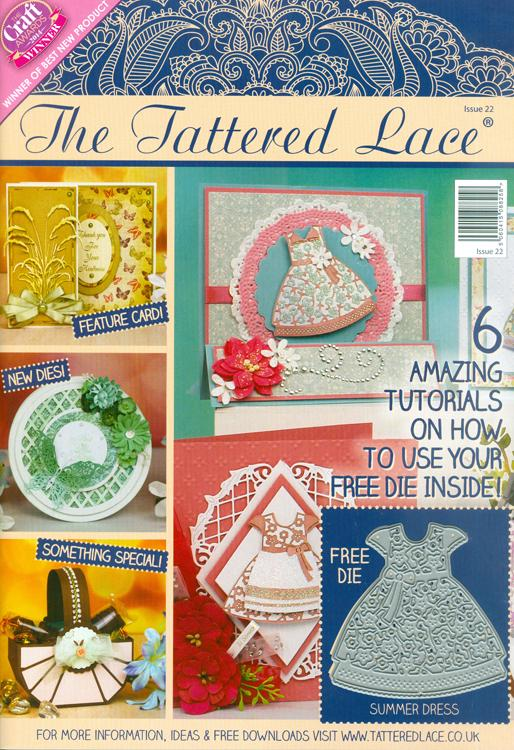 Tattered Lace Magazine #22 (includes Free Die)