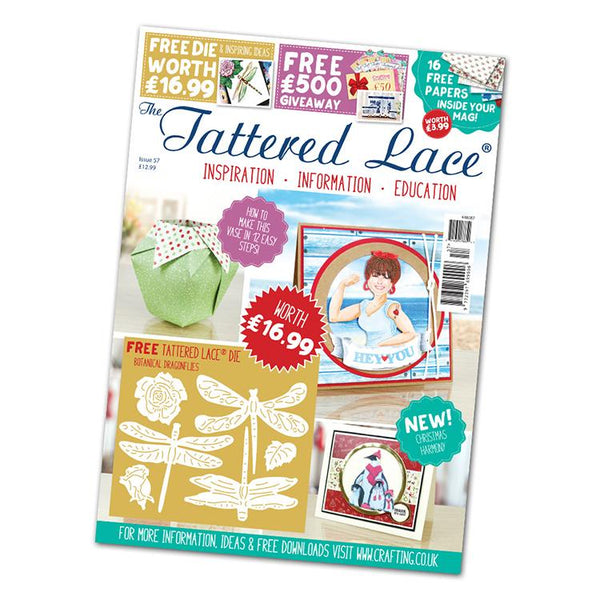 The Tattered Lace Magazine Issue #57 with FREE Die