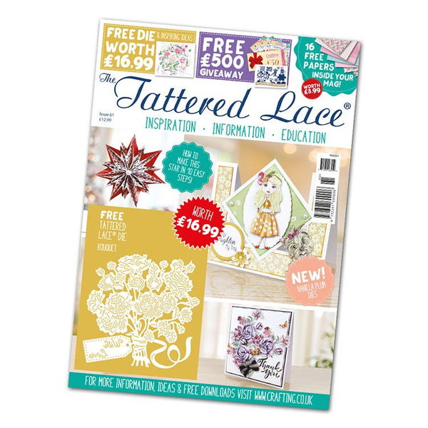 The Tattered Lace Magazine Issue #61 with FREE Die