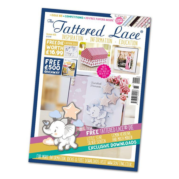 The Tattered Lace Magazine Issue #65 with FREE Die