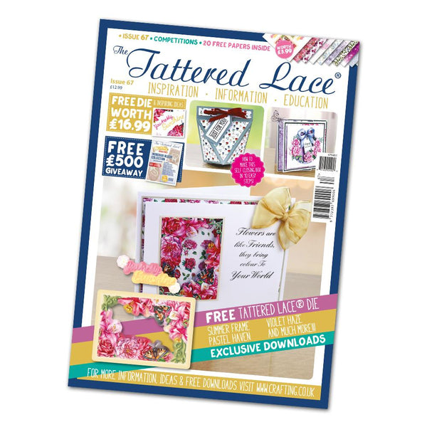 The Tattered Lace Magazine Issue #67 with FREE Die