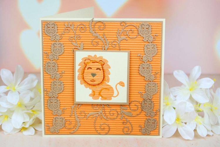 Tattered Lace Dies - Lion Border